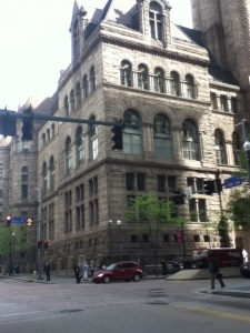 Richardson's Allegheny Court House in Pittsburgh